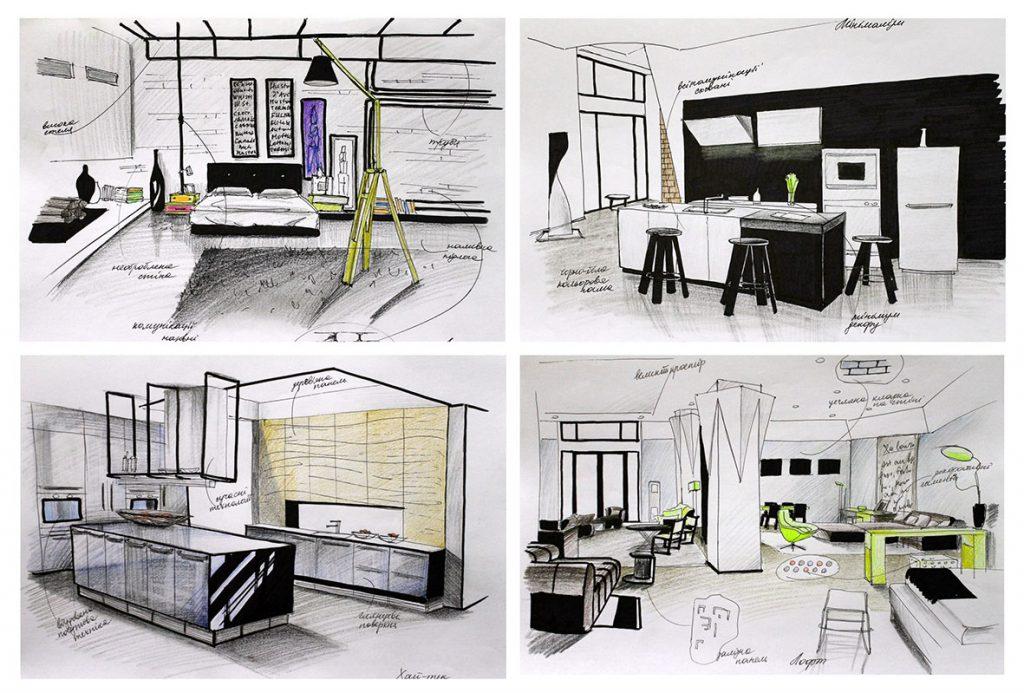 Stretch stropovi - vizualizacija